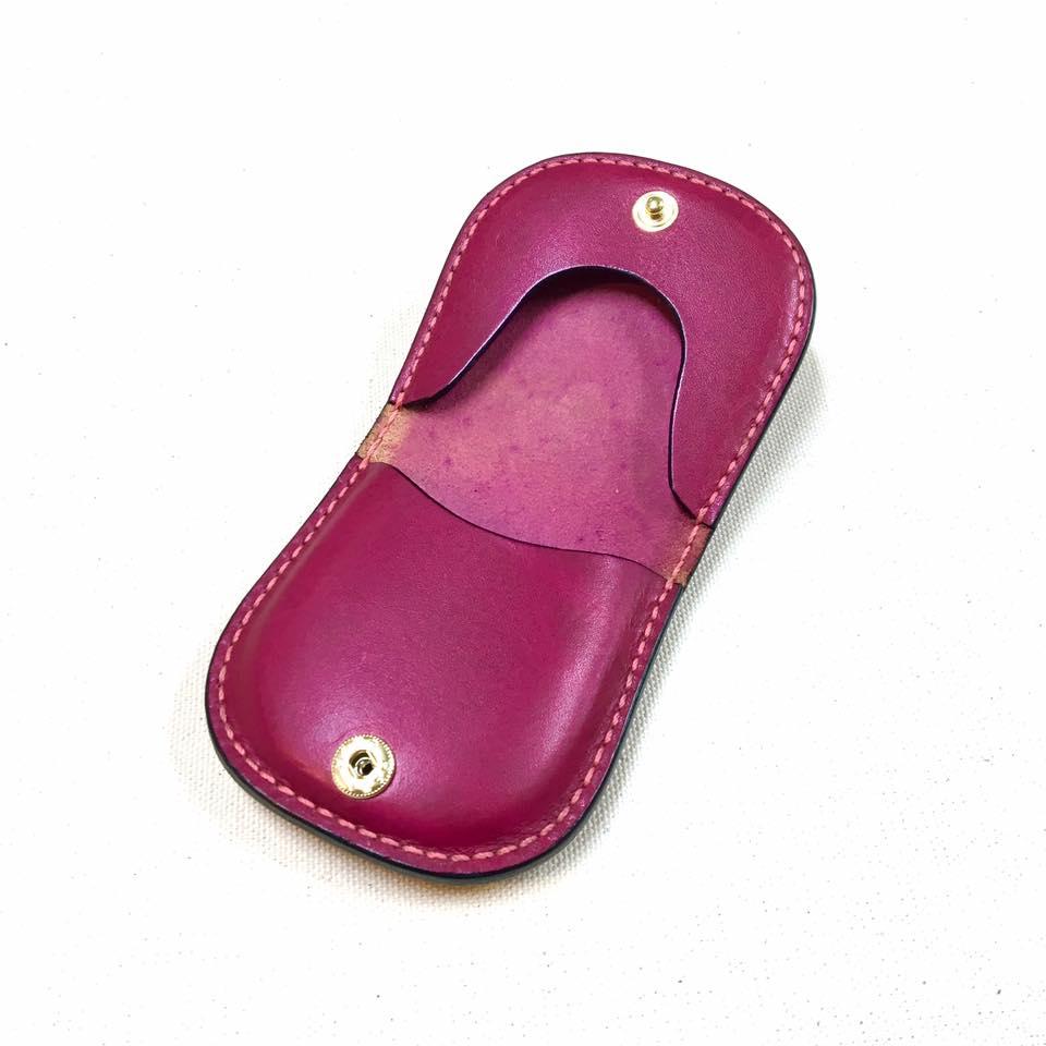 手縫いワークショップ 馬蹄型コインパースorファスナー付きミニポーチ